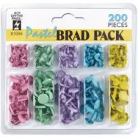 Hot Off The Press - Pastel Brads  -