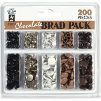 Hot Off The Press - Chocolate Brads  -