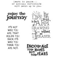 Tim Holtz Stampers Anonymous - Just Thoughts