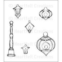 Heartfelt Creations - Decorative Metal Fixtures PreCut Stamp Set  ^