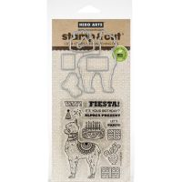 Hero Arts Stamp & Cut - Alpaca Stamp Set