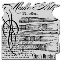 Stampendous - Artist Elements Cling Stamp