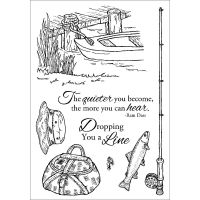 Inky Antics - Fishing Favorites Stamp Set