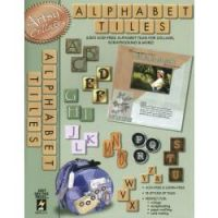 Hot off The Press - Alphabet Tiles