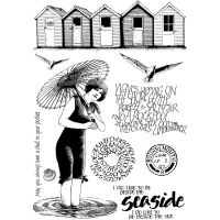 Crafty Individuals - Beside the Sea Unmounted Stamp Set