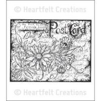 Heartfelt Creations - Post Card Precut Stamp Set  ^