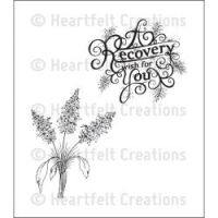 Heartfelt Creations - Recovery Wishes Precut Stamp Set  ^