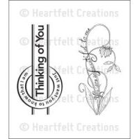 Heartfelt Creations - Beautiful Juliet Precut Stamp Set  ^