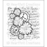 Heartfelt Creations - Majestic Collage Precut Stamp  ^