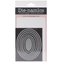 Die-Namics - Pierced Oval STAX dies by My Favorite Things