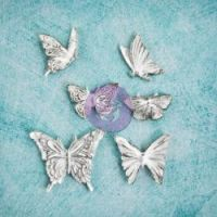 Prima Shabby Chic Treasures - Resin Butterflies  ^