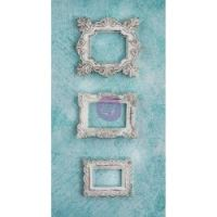 Prima - Shabby Chic Treasures Resin Square Frames  ^