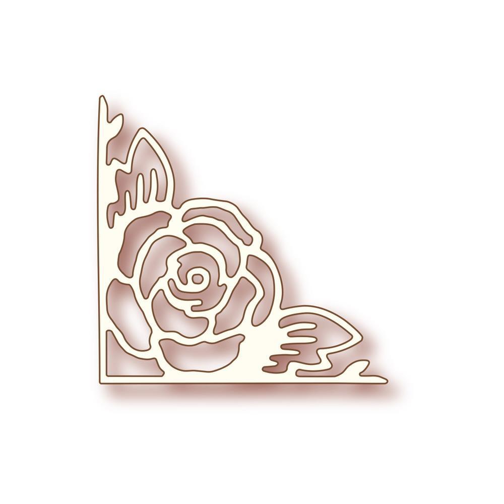 wild rose studio rose corner die. Black Bedroom Furniture Sets. Home Design Ideas