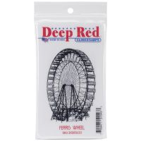 Deep Red - Ferris Wheel Stamp  -