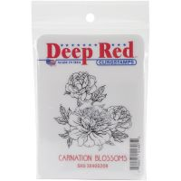 Deep Red - Carnation Blossoms  -