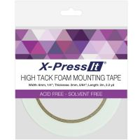 "X-press It - 1/4"" High Tack Foam Type  ^"