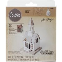Tim Holtz Alterations - BigZ Village Bell Tower