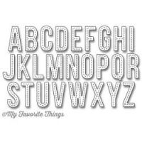 Die-Namics - Stitched Alphabet Dies by My Favorite Things