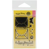 Waffle Flower Crafts - Happy Mail Stamp Set