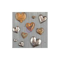 Prima Finnabair Mechanicals - Tin Hearts  -