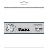Fundamentals - 5 3/4 X 5 3/4 White Envelopes