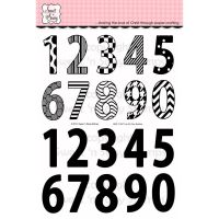 Sweet n Sassy - I've Got Your Numbers Stamp Set