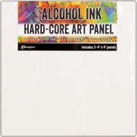 Tim Holtz Ranger - Alcohol Ink Hard-Core Art Panels  4x4