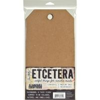 Tim Holtz Stampers Anonymous - Medium Etcetera Tags  ^