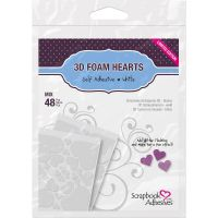 Scrapbook Adhesives - 3D Foam Hearts Limited Edition  -