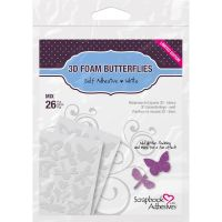 Scrapbook Adhesives - 3D Foam Butterflies Limited Editions   -