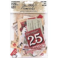 Tim Holtz Idea-ology - Christmas Ephemera Pack  -