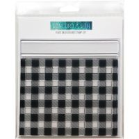 Concord & 9th - Plaid Background Stamp