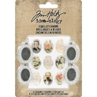 Tim Holtz Idea-ology - Jeweled Charms  -