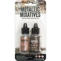 Tim Holtz Ranger - Metallic Mixatives  ^