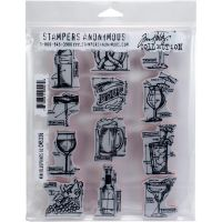 Tim Holtz Stampers Anonymous - Mini Blueprints 10