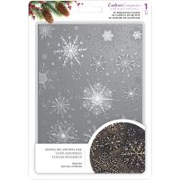Crafter's Companion - Sparkling Snowflake 3D Embossing Folder