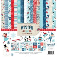 Echo Park - Celebrate Winter 12x12 Paper Pack + Element Stickers