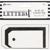 Ranger - Letter It Assorted Tags  -