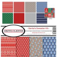 Reminisce - Santa's Sweater Kit 12x12 paper pack
