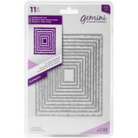 Crafters Companion Gemini - Torn Edge Rectangles Dies