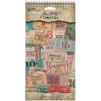 Tim Holtz Idea-ology - Ticket Book  -