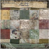Tim Holtz Idea-ology - Departed Paper Stash