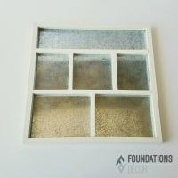 Foundations Decor - Magnetic Shadow Box Frame - White