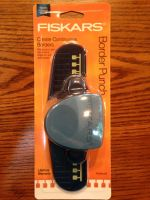 Fiskars Notebook Border Punch