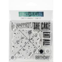 Concord & 9th - Confetti Turnabout Stamp Set  -