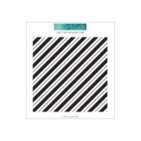 Concord & 9th - Candy Stripe Background Stamp  -