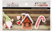 Fancy Pants Designs - Home for the Holidays - Silicone Embellishments