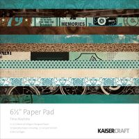 "KaiserCraft Time Machine 6 1/2"" Paper Pad"