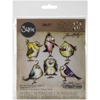 Tim Holtz Alterations - Birds Crazy Thinlit Dies