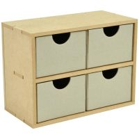 KaiserCraft - 4 Square Drawers